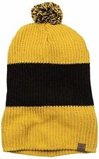 ORIGINAL TIMBERLAND FASHION SLOUCHY BEANIE. WHEAT YELLOW & BROWN, ONE SIZE, NEW