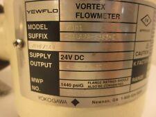 """Yokogawa Yewflow Vortex Flowmeter YF101 24 VDC/4-20mVDC 1/2"""" flange"""