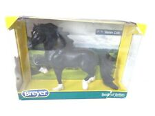 Black Welsh Cob Pony Breyer Traditional Horse Model 9172 New in Damaged Box
