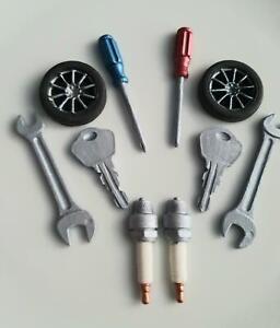 Edible Sugar Mechanics Car Parts