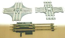 1 LIONEL / 1 MARX O27  90 DEGREE CROSSINGS & 1 LIONEL MANUAL UNCOUPLING RAMP