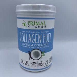 Collagen Fuel Vanilla Coconut 13.1 Oz by Primal Kitchen, EXP 05/2021