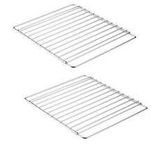 2x Pack Universal Adjustable Arms Extendable Chrome Oven Cooker Rack Grill Shelf