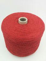 Marchi Qual. Fusion Farbe 96370 Rot NM 3/15 50& Baumwolle 50% Acryl Kone