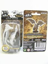 WZK73186 - Pathfinder Battles Deep Cuts - Unpainted Silver Dragon