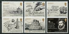 More details for jersey 2019 mnh sir walter raleigh governor 6v set boats ships people stamps