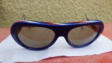lunettes de soleil vintage Sol Amor made in France bleu blanc rouge