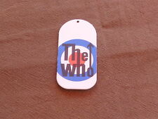THE WHO - CONVERSE CARDBOARD TICKET!!!!!!!!!!!!!!!