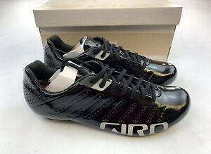 Giro Empire SLX Black / Silver Carbon Road Cycling Shoes Men's EU 42.5 / US 9.5