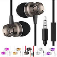 3.5mm In ear With Mic Super Bass Music Stereo Headphone Headset Earphone Earbuds