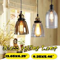 Retro Deckenlampe Vintage-Leuchte Pendelleuchte Hängelampe Industrie Design