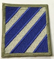 "WWII US 3RD INFANTRY DIVISION ""ROCK OF THE MARNE"" SLEEVE PATCH INSIGNIA"