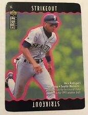 1996 Upper Deck You Make the Play Alex Rodriguez Seattle Mariners 34