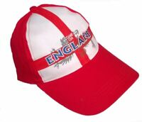 ENGLAND BASEBALL CAP Hat Football World Cup Rugby Mens Boys Ladies Fancy Dress