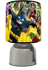 LEGO BATMAN CHARACTER TOUCH LAMP  KIDS  ROOM MATCHES DUVET SET  FREE P&P
