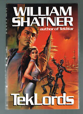 Teklords by William Shatner (1991, Hardcover 1st Printing) Boris Cover Art
