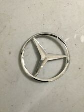 Mercedes Benz rear boot emblem badge 3 pins 90mm, C ML  E SLK S CLK CL  Vito