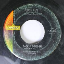 50'S / 60'S 45 Dick & Deedee - Swing Low / Goodbye To Love On Liberty
