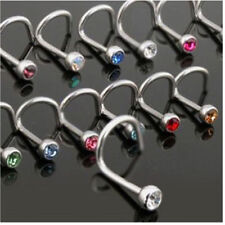 Rhinestone Nose Body Piercing Jewellery