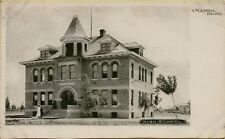 Exterior Front View Kenwood High School Nampa Idaho ID Postcard B13