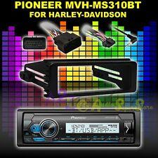 HARLEY SINGLE-DIN INSTALL 98-2013 ADAPTER KIT - PIONEER BLUETOOTH DIGITAL MEDIA
