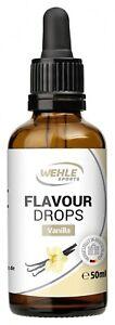 Flavdrops Aroma Tropfen Geschmackstropfen für deinen Quark, Joghurt usw 50ml