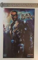Black Lightning CW Tv Show RARE Print Advertisement