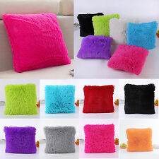 Fluffy Plush Pillow Case Luxury Cases Housewife Pillows Cover Sofa Home Cushion