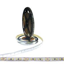 LED Leiste 5m Strip Lichterkette SMD Weiß Kaltweiss 6500K 24V Streifen Band