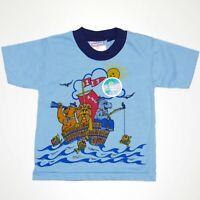 Vintage Deadstock Imperial Kids Unisex T-Shirt Size 3X Blue Canada Single Stitch