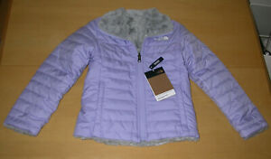 NWT The North Face Reversible Mossbud Swirl Jacket Sweet Lavender Girls XS (6)
