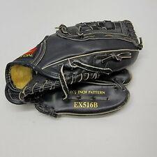 "Easton EX516B 11 1/2"" Baseball Glove Leather competitor series BLACK"