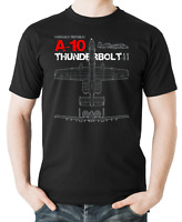 Flyingraphics aviation themed T Shirt 'A10 Thunderbolt II'