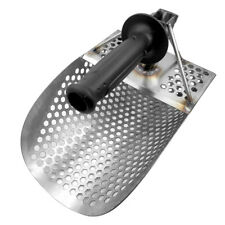 Beach Sand Scoop Metal Detecting Tool Stainless Steel for Travel Use 1pcs T9X8
