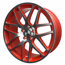 "BK170 20"" Alloy Wheels & Tyres IN STOCK  5x120 Transporter  T6 T5 RED"