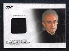 2014 James Bond Archives RELIC JBR41 Elliot Carver Suit #154/375