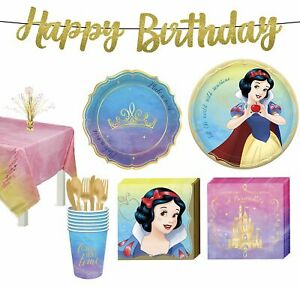 Disney Princess Snow White Tableware Kit for 8 Guests