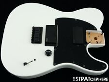 2020 Fender Jim Root Telecaster Tele LOADED BODY EMG Flat White Mahogany Nitro