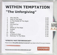 WITHIN TEMPTATION The Unforgiving 2011 UK numbered 12-track promo CD SEALED