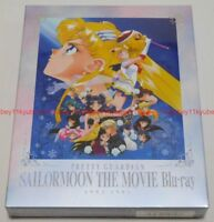 New Pretty Guardian Sailor Moon THE MOVIE 1993-1995 3 Blu-ray Japan BSTD-09699