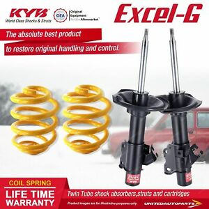 Front KYB EXCEL-G Shock Absorbers Lowered King Spring for NISSAN 180SX S13 Coupe