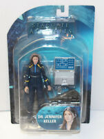New--Dr. Jennifer Keller-Diamond Select StarGate Atlantis Action Figure Series 3