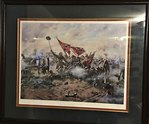 """Framed Don Troiani Ltd Edition """"The High Water Mark"""" Signed & Numbered COA"""