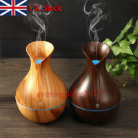 LED Ultrasonic Humidifier Air Purifier Essential Oil Aroma Diffuser'AromathO_ JR