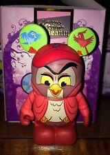 "Owl and Birds 3"" Vinylmation Figurine Sleeping Beauty Series Prince Red Tree"