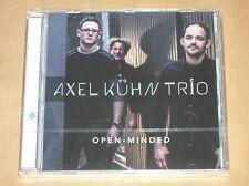 CD / AXEL KUHN TRIO / OPEN MINDED / NEUF SOUS CELLO