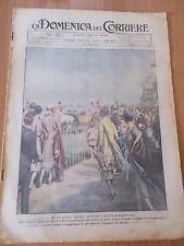 DOMENICA del CORRIERE 27/1925 Derby di Ascot, Moto Giuseppe Gilera vince a Crema
