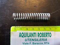 molla a compressione zincata L58,5mm - ø 12,1 - filo 1,6 mm 98566