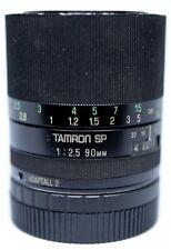 Tamron SP Adaptall II 90mm F/2.5 Macro Canon EOS Mount Included