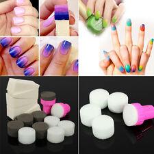 15pcs Sellos De Esponja Recambios Estampador Manicura Uñas Nail Art Nuevo vgfc